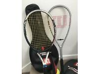 Tennis/ squash racket collection only