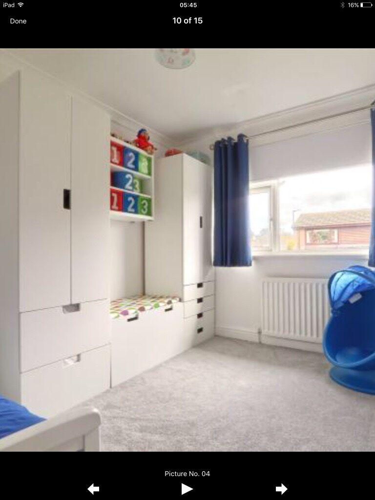 Ihram Kids For Sale Dubai: Children's Ikea Stuva Combination Wardrobes And Drawers