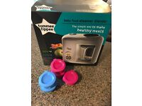 Tommee Tippee Baby Food Steamer & Blender