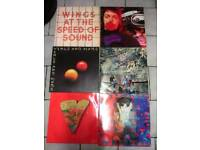 """PAUL McCARTNEY AND WINGS 5 ALBUMS PLUS A 12"""" SINGLE"""