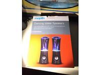 Maplin Dancing Water Speakers BNIB