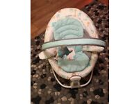 Hardly used Graco vibrating baby chair