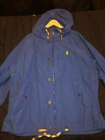 Blue XL polo Ralph Lauren jacket