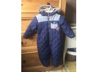Boys winter coat- Aged 18-24 months