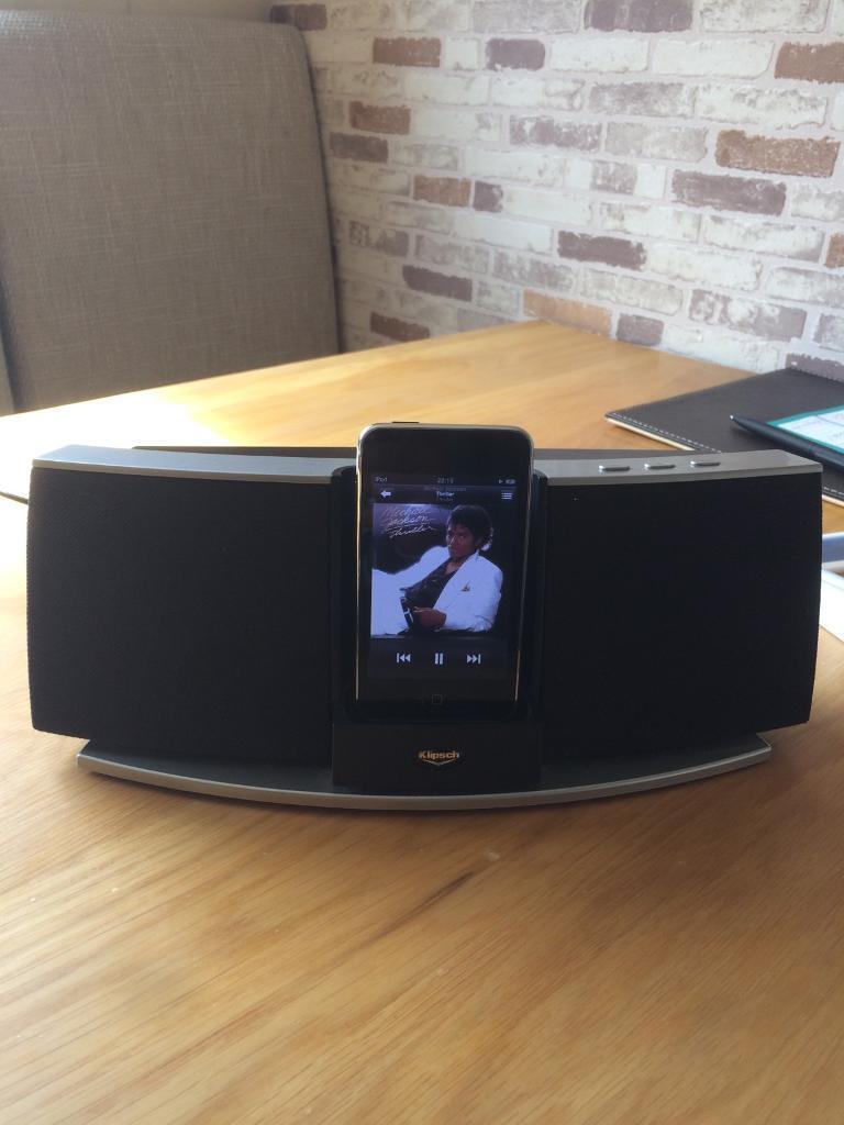iPod 2nd Gen 8 GB - with Klipsch Speaker Dock | in Wickersley, South  Yorkshire | Gumtree