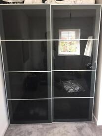 Ikea customised wardrobe