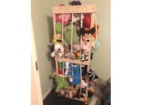 Soft toy teddy zoo storage