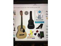 Acoustic Guitar 3/4 Classic Nylon String - Brand New