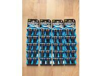 Duracell Batteries AA 4 Packs x 20