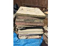 Free Paving slabs & hardcore rubble