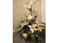 Artificial flower composition