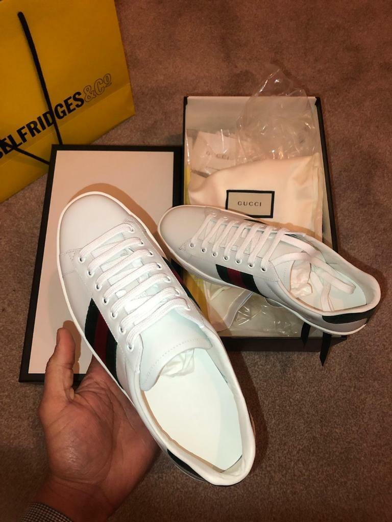 75fbbb1a607 Gucci ace trainers not mcqueen louboutin