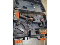 Bosch sds hammer drill, battery