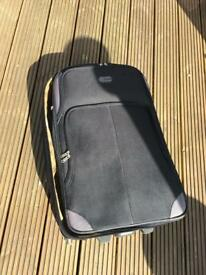 Medium sized Black Holiday Suitcase From TKMaxx