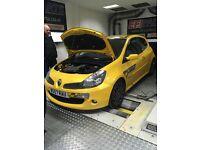 Renault Clio 197 f1 edition.