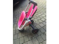 Childs toy Quinny twin stroller