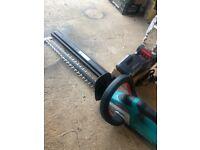 Bosch 36v cordless hedge trimmer
