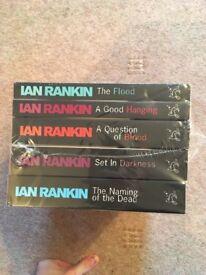 10 Ian Rankin Rebus Books New Unopened
