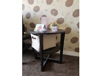 Black Coffee table / Side Table