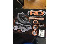 Junior roller skates size 12