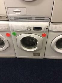 ***White Hotpoint Ultima 8kg 1600spin washing machine***Free Delivery**Fitting**Removal