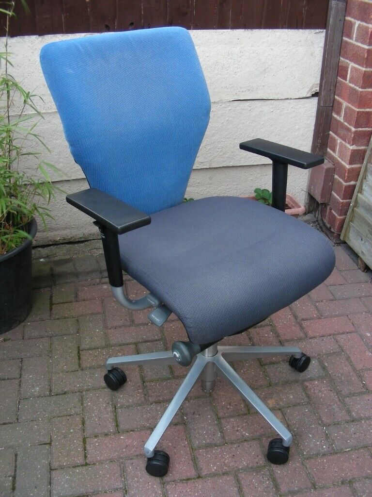 Phenomenal Orangebox Swivel Office Desk Chair Seat Gas Lift Adjustable Height Arms In Pinxton Nottinghamshire Gumtree Inzonedesignstudio Interior Chair Design Inzonedesignstudiocom