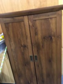 Living room cabinet dark brown
