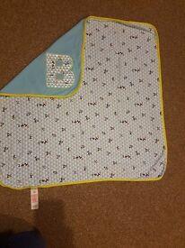 Ted Baker baby blanket
