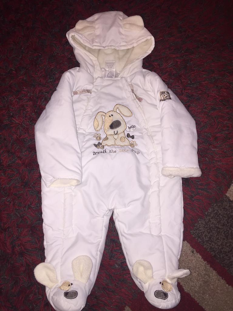 Baby girls all in one coats 3-6 months   in Bangor Gwynedd   Gumtree