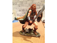 FABULOUS VERY DETAILED VIKING WARRIOR STATUE, LOOKS FABULOUS
