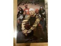 Eminem & D12 signed Photo