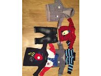 Next boys clothes bundle 3-6 months