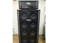 Laney Nexus Tube Bass Head and Laney 8x10 Speaker Cabinet