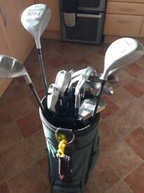 Full golf set excellent condition