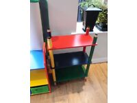 Child's Book Shelves and Desk for Sale