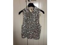 Topshop top size 6