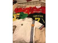 Manchester United retro shirt collection