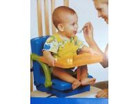New unused portable high chair
