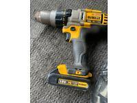 Dewalt li-ion hammer drill driver