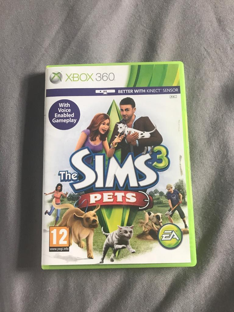 Sims 3 pets Xbox 360in Winsford, CheshireGumtree - The Sims 3 pets Xbox 360. Works brilliantly and in good condition. £15
