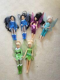 6 Disney Store Flutter Fairies