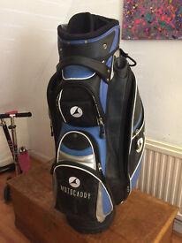 Motocaddy Golf cart bag Blue/Black