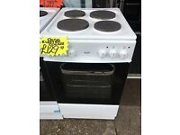 BUSH 50CM SOLID TOP ELECTRIC COOKER