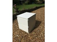 Malm Bedside Tables x2 (may be sold separately)