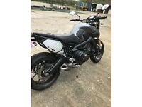 Yamaha MT09 sport new from showroom full service immaculate extras