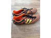 Warrior Football Boots soft ground Size 9 (possibly 8-8.5 as fit small)