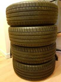 Full tread 4 x Michelin pilot sport 3 tyres 215x45x18 would sell individually