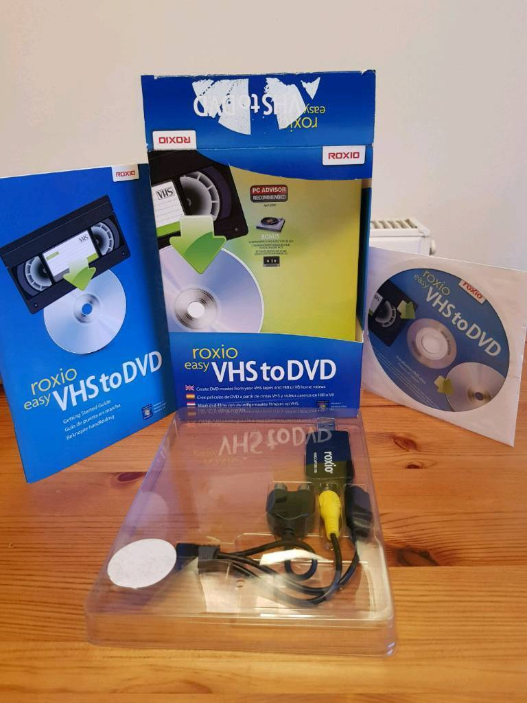 Roxio vhs video to dvd converter for pc