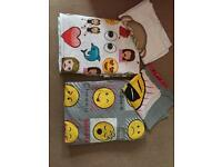 2 single emoji duvet covers