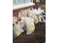 25 bags of top soil